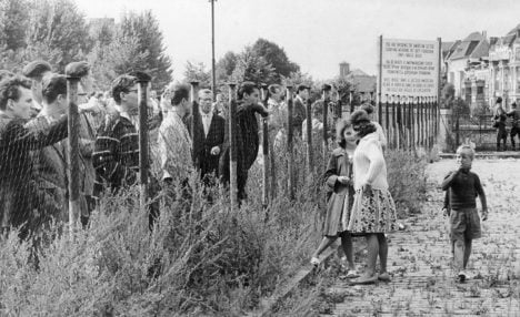 US spies knew of plans to build Berlin Wall