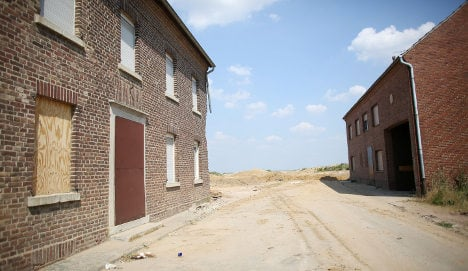 German coal mine turns village into ghost town