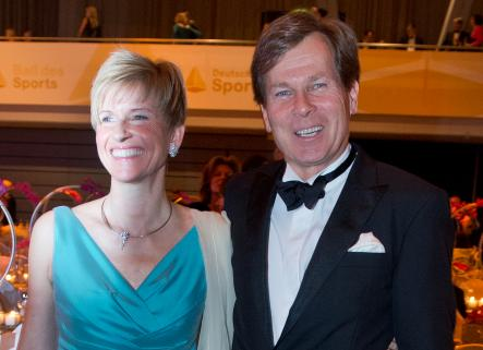 5th<br>Susanne Klatten, (here with husband Jan) is even richer than her brother and mother Stefan and Johanna Quandt in the BMW empire. Germany's 5th richest, Klatten has a personal fortune of €10 billion. Photo: DPA
