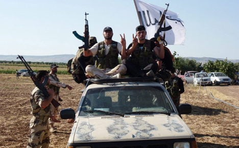 200 Islamist fighters at Syria 'German Camp'
