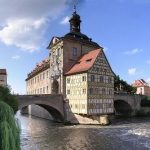 """The Bavarian city of Bamberg, with its charming old-style buildings and UNESCO-protected historic centre, is the ideal place for couples looking for an old-school romantic getaway. Known as """"The Little Venice,"""" and built like Rome on seven hills, the city is the perfect place to rekindle a spark. Photo: Wiki images"""