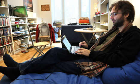 Berlin blogger records entire life online
