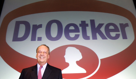 Dr Oetker chief admits firm's Nazi past