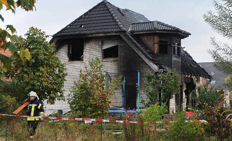 Police: 'Family house fire was suicide'