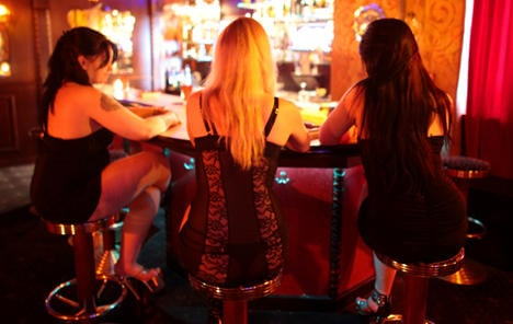 'People talk about, not to prostitutes'