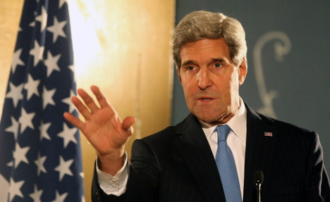 Kerry: it's tense with Germany but we can fix it