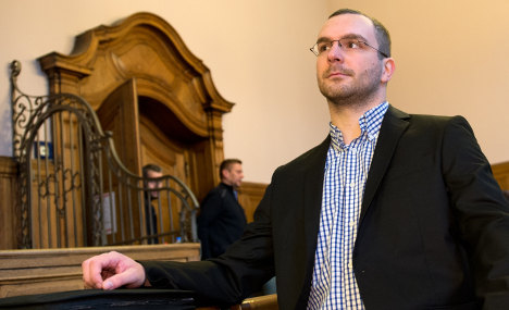 Neo-Nazi politician in court over 'racist' CDs