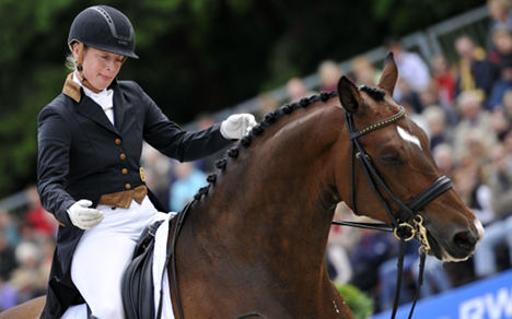 Second ban for Olympic equestrian champion