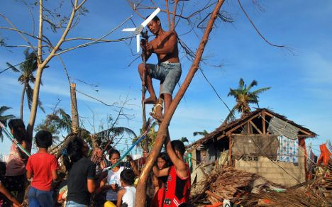 Philippines aid efforts bring new hope