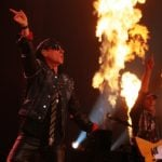 The band gives a scorching performance in Moscow, Russia in April 2012.Photo: DPA