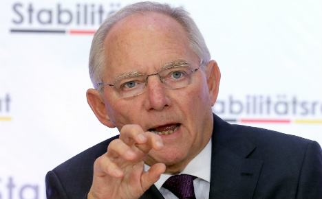 Report: Schäuble to stay German finance minister