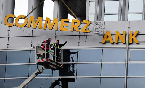 Commerzbank staff hit by huge tax raids