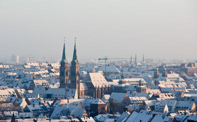 Germany in the snow