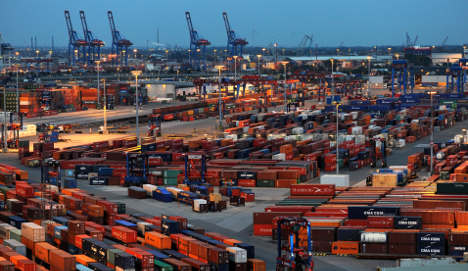 Record German exports exceed €99 billion