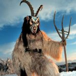 In Bavaria Nikolaus wasn't the only legendary character to make an appearance. According to Alpine tradition Krampus is a beast-like, demonic figure with long goats' horns and straggly hair who comes to capture naughty children and carry them off in a sack to his mountain lair before Nikolaus arrives.Photo: Franz Neumayr dpa/lby