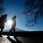 Go for a walk - Get your blood flowing again. The fresh German winter air is also great for blowing hangovers away.Photo: DPA