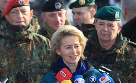 Germans oppose more military intervention