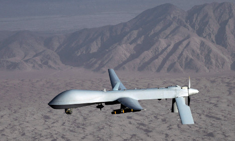 German security contact dies in US drone attack