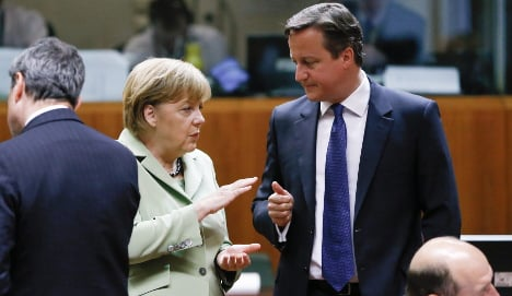 UK and Germany locked in immigration debate