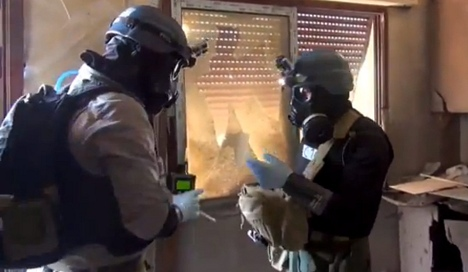 Germany to destroy Syrian chemical weapons