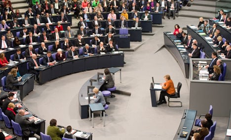 Merkel lays out priorities for next four years
