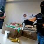 A police investigation is still underway to find out how cocaine valued at €6 million found its way into banana  crates in several Aldi stores in Berlin.Photo: DPA