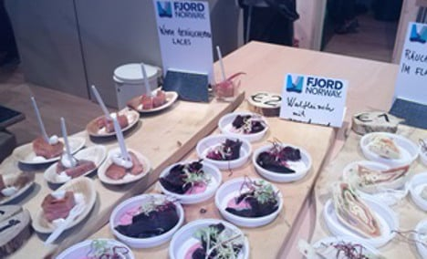 Whale meat sold at Berlin 'Green Week'