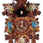 """Cuckoo clocks - often spotted at the fancier end of a German Christmas market, these noisy timepieces are often as expensive as they are ugly. This brightly-coloured example will cost you €129 from city-souvenir-shop.de, though fortunately it includes a """"disengagable sound module."""" Also noteworthy is the authentic traditional quartz movement (batteries not included). Cheese rating 10/10.Photo: city-souvenir-shop.de/screenshot"""