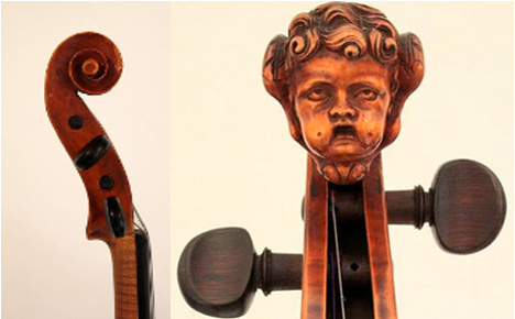 Thieves steal 100 antique string instruments