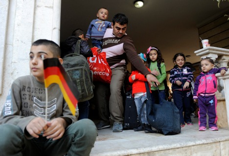 Refugee crowdfunds his way to Germany