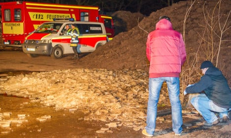 Woman's body pulled out of frozen cesspit