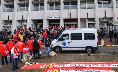 Michael Schumacher fans gather outside hospital to mark his 45th birthday