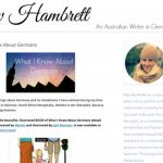 """Author of what I know about Germans, Bavaria-based Liv Hambrett has a keen eye for observation. Her blog <a href=""""http://www.livhambrett.com"""" target=""""_blank""""><b>An Australian Writer in Germany</b></a> includes practical tips on relocating, living in Germany and various city guides.Photo: screenshot"""