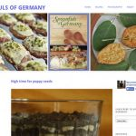 """German food. It's not exactly on-trend. But <a href=""""http://spoonfulsofgermany.com/ Spoonfuls of Germany"""" target=""""_blank""""><b>Spoonfuls of Germany</b></a> may change your mind – with considered recipe choices and beautiful photos it's a rare homage to Teutonic cuisine.Photo: screenshot"""