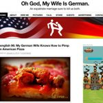 """Married to a German? Then <a href=""""http://ohgodmywifeisgerman.com/ oh my god my wife is german"""" target=""""_blank""""><b>Oh God, my wife is German</b></a> is a must read, as an American husband recounts funny anecdotes, and thoughtful observations, of being in a transatlantic partnership. Photo: screenshot"""
