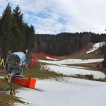 A skiing competition was called off in Bavaria, as snow failed to materialize and Germany's mild winter continues.Photo: DPA