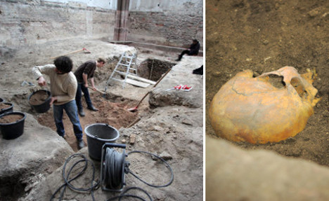 Second oldest church in Germany uncovered