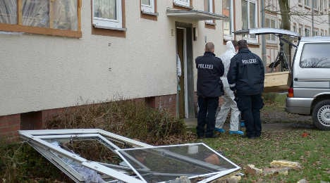 Girl, six, among three killed in explosion