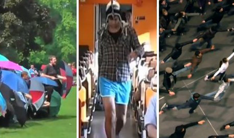Five best (and five worst) German flashmobs ever