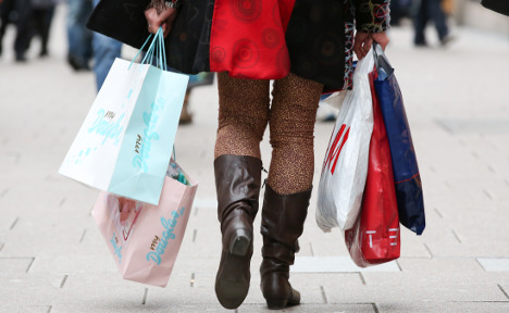 Retail sales rise at fastest rate for seven years
