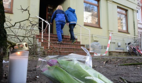 Mother and two sons die in refugee home fire
