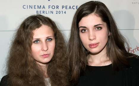 Jailed band members: We never left Pussy Riot