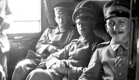 The WWI photo album of a German soldier