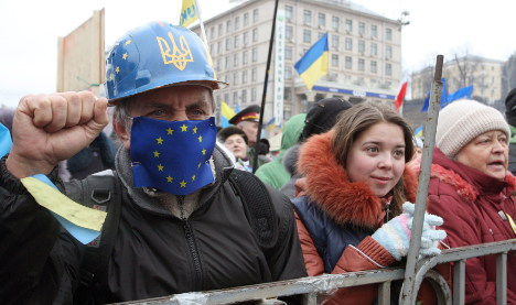 Ukraine opposition to ask Germany for EU cash