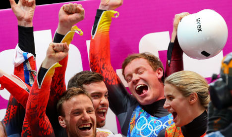 Germany tops medal table thanks to luge stars