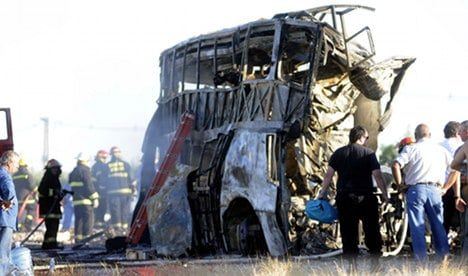 Mother and daughter die in Argentina bus smash