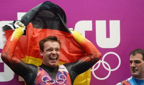 Loch takes Germany's first gold at Sochi Games