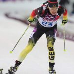 The German athlete Evi Sachenbacher-Stehle has been tested for illegal substances in the first suspected doping case in Sochi.Photo: DPA