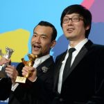Actor Lia Fan, who starred in Yinan's film, won the Silver Bear best actor trophy for his role in the murder mystery.Photo: DPA