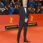 """Actor Shia Labeouf was never far from the limelight during the festival. The actor appeared on the red carpet wearing a paper bag on his head with the words """"I'm not famous anymore"""", presumably relating to his announcement back in December that he was quitting acting.Photo: DPA"""
